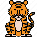 animal, big, cat, tiger icon