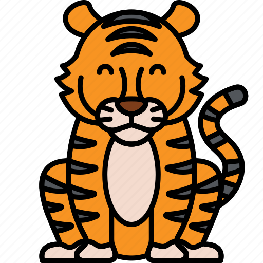 Cat, tiger, animal icon - Download on Iconfinder