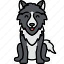 animal, coyote, lobo, wolf icon