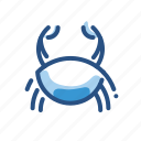 animal, cancer, crab, shellfish icon