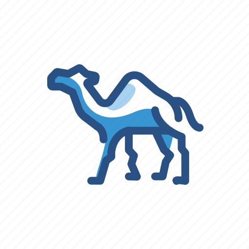 Animal, camel, dromedary icon - Download on Iconfinder