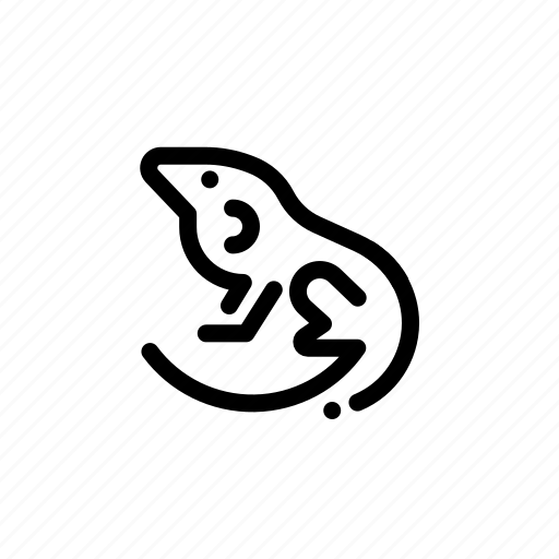 Animal, chameleon, liguan, lizard icon - Download on Iconfinder