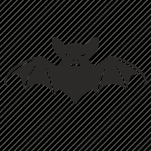 animal, bat, halloween, skin icon