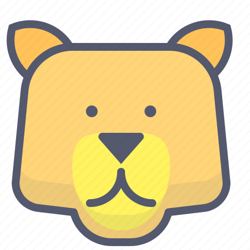 Bear, brown, forest, grizzly, wild, wilderness, zoo icon - Download on Iconfinder