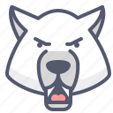 bear, forest, furious, wild, wilderness, zoo icon