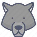 bear, danger, forest, wild, zoo icon