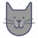cat, domestic, friend, lover, pet icon