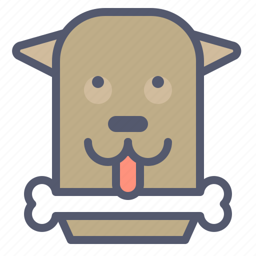 Bone, dog, food, hungry, pet, play, toy icon - Download on Iconfinder