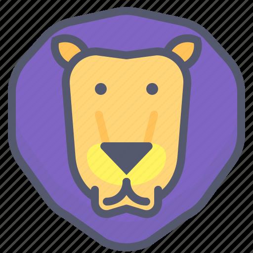 aslan, carnivore, chef, king, lion, narnia, zoo icon