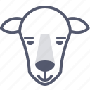domestic, mountains, sheep icon