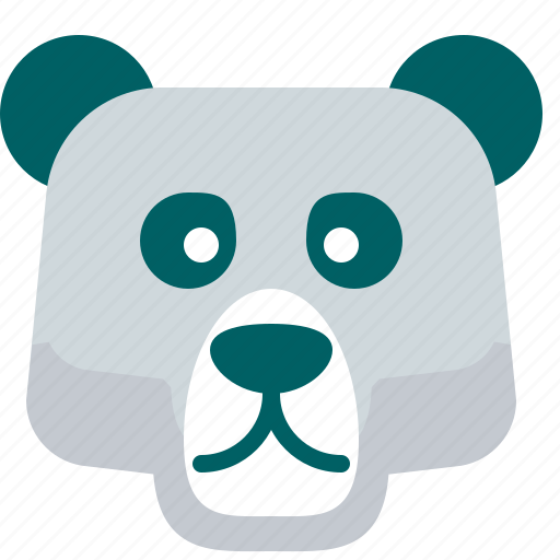Bear, cold, ice, polar, zoo icon - Download on Iconfinder