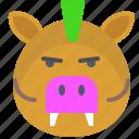 boar, hunt, meat, wild, zoo