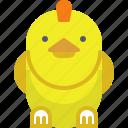 bird, chicken, eco, food, meat