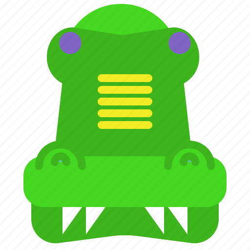 Crocodile, danger, jungle, waters, wild, zoo icon - Download on Iconfinder