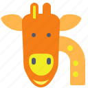 giraffe, longlife, neck, zoo icon