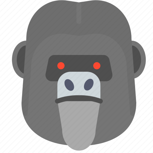 Angry, danger, gorilla, power, strong, zoo icon - Download on Iconfinder