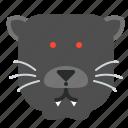 cat, hunter, panther, puma, wild, zoo