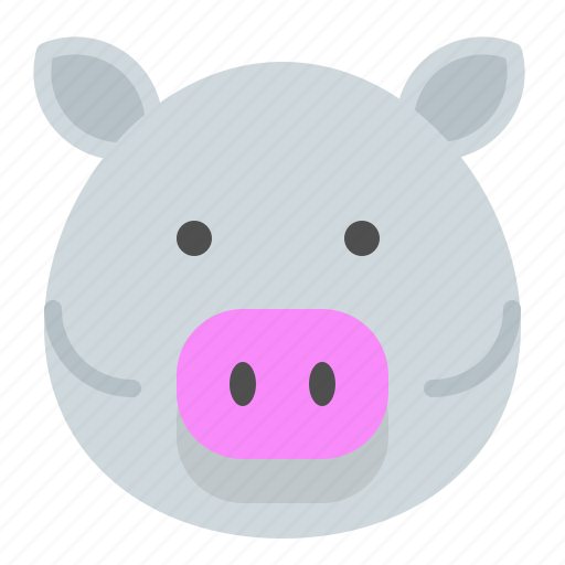 Domestic, fat, grow, meat, peasant, pig icon - Download on Iconfinder