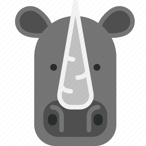 Fat, hornet, huge, rhino, zoo icon - Download on Iconfinder