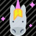 horse, fantasy, unicorn