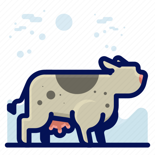 Animal, cow, farm, mammal, wildlife icon - Download on Iconfinder