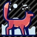 animal, forest, fox, mammal, wildlife icon