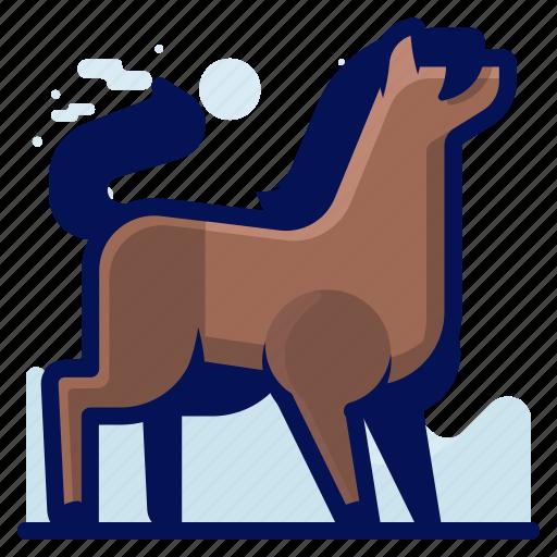 Animal, horse, mammal, wildlife icon - Download on Iconfinder
