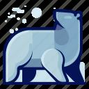 animal, bear, mammal, polar, wildlife icon