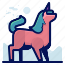 animal, mammal, unicorn, wildlife icon