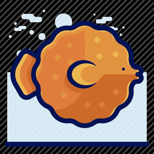 Animal, blowfish, ocean, sea, wildlife icon - Download on Iconfinder