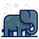 animal, elephant, mammal, wildlife icon