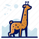 animal, girafe, giraffe, wildlife icon