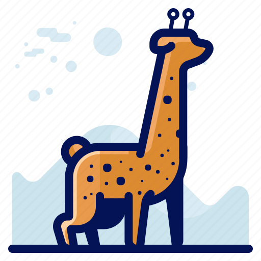 Animal, girafe, giraffe, wildlife icon - Download on Iconfinder