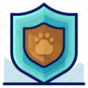 animal, health, insurance, pet, protection icon