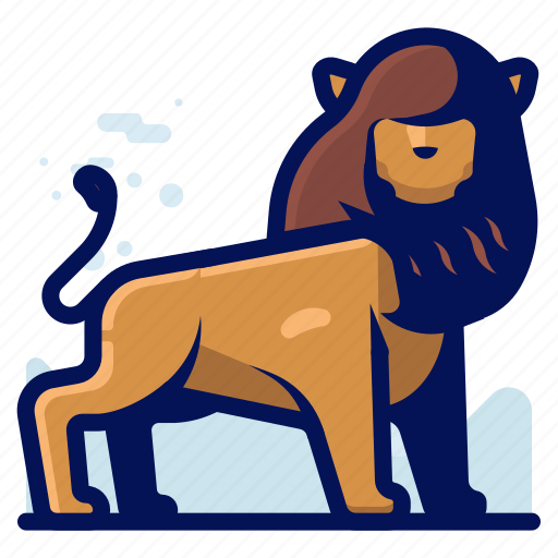 Animal, feline, lion, wildlife icon - Download on Iconfinder