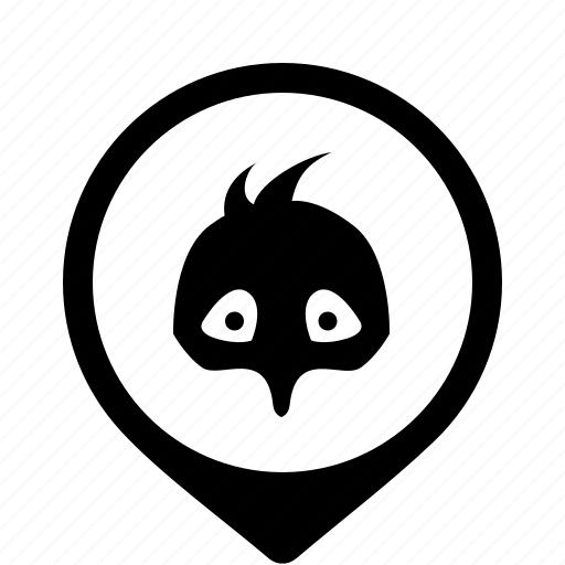 Bird Chicken Face Mask Icon