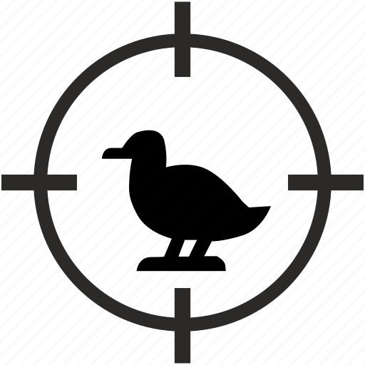 animal, bird, goose, hunting, zoo icon