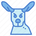 animal, kangaroo, mammal, marsupial, wildlife icon