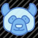 animal, bear, head, mammal, panda