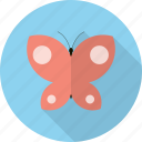animal, butterfly, fly, insect, nature, wings icon