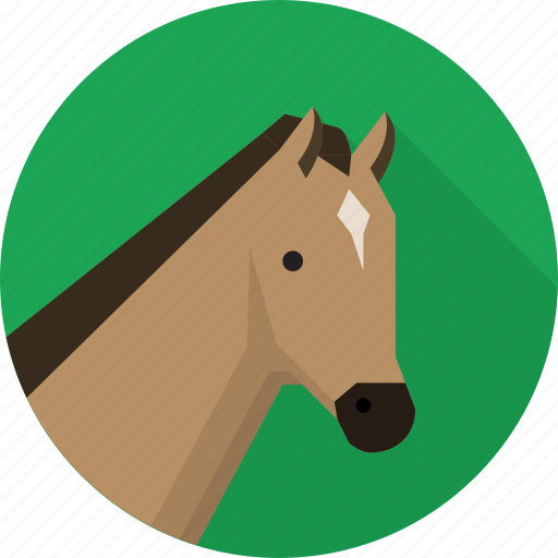 animal, chess, horse, pony, riding icon