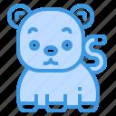 bear, animal, mammal, wildlife, zoo