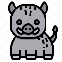 boar, pig, animal, wild, mammal