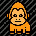 gorilla, animal, wild, wildlifemonkey