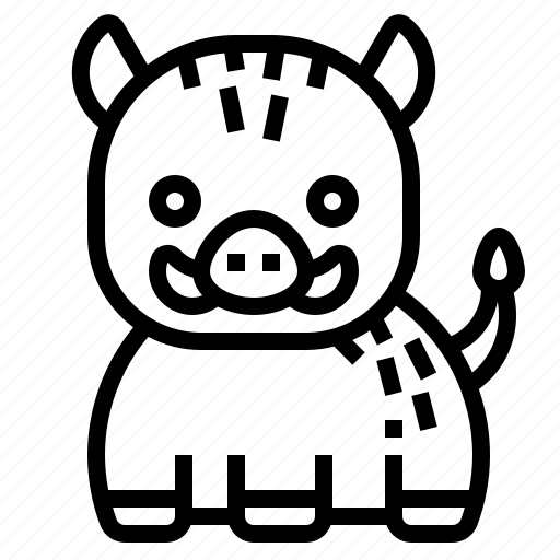 Boar, pig, animal, wild, mammal icon - Download on Iconfinder