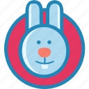 animal, cute, pet, rabbit icon
