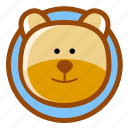 animal, bear, pet, teddy icon