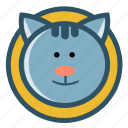 animal, cat, cute, kitten, pet icon