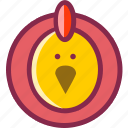 animal, bantam, bird, chick, chiken, cock, pet icon