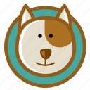 animal, dog, doggy, pet, puppy icon